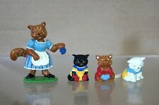 BRITAINS DUCAL GOOD SOLDIERS NURSERY RHYME THREE LITTLE KITTENS LEAD FIGURE mv