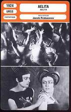 FICHE CINEMA : AELITA - Yakov Protozanov 1924 - The Queen Of Mars