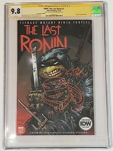 TMNT THE LAST RONIN 1 NYCC VARIANT RARE KEVIN EASTMAN SIGNED & SKETCH CGC 9.8