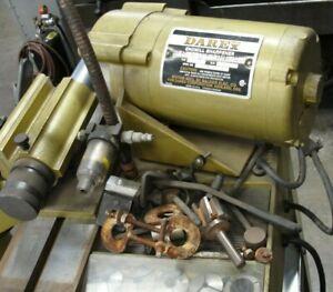 E 85/90 DAREX END MILL SHARPENER GRINDER 1/4 HP 3400 RPM 3.2 AMP Local Pickup