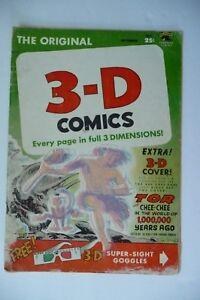 Vintage Ungraded  Magazine 3-D Comics  Vol.1 #2 November 1953  No Glasses