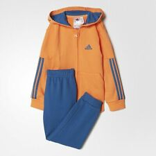 Adidas Infant Sports Terry Jogger Full Tracksuit Children Baby Kids 18-24 months