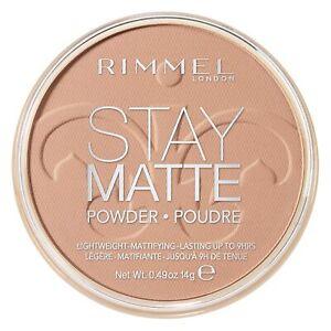 Rimmel Stay Matte Pressed Powder Foundation - 018 CREAMY BEIGE