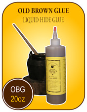 LIQUID HIDE GLUE - 20oz Old Brown Glue, animal protein glue perfect for luthiers