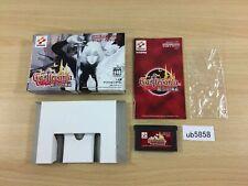 ub5858 Castlevania Aria of Sorrow Akatsuki no Minuet BOXED GameBoy Advance Japan
