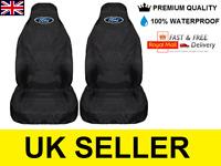 FORD TRANSIT CONNECT PREMIUM VAN SEAT COVERS PROTECTORS /100% WATERPROOF / BLACK