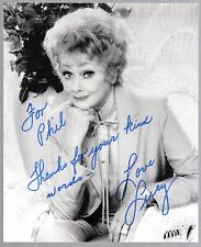 LUCILLE BALL  Signed Autographed 8x10
