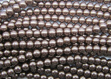 Wholesale Glass Pearl Round Spacer Loose Beads Jewelry Making 4/6/8/10mm