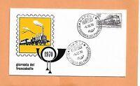 GIORNATA DEL FRANCOBOLLO 1970   NAPOLI  ITALY FDC >