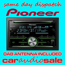 PIONEER FH-X840DAB CD MP3 DAB BT USB APPLE ANDROID DOUBLE DIN CAR VAN + AERIAL