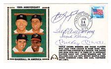 Baseball Yastrzemski, Ted Williams, Frank Robinson, Mantle Autographed w/ COA