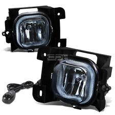 Fit 04-05 Ford Ranger Pickup Smoked Lens Oe Bumper Fog Light Lamp Pair+Switch