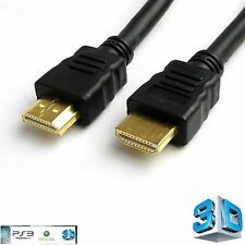 1m HQ HDMI GOLD Cable PS3/SkyHD to LED/LCD TV Lead /1M BLACK hdmi 1.4 Wire
