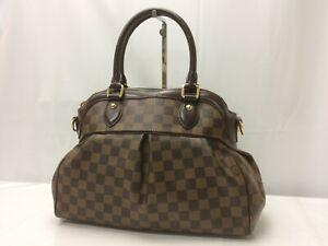 """Auth Louis Vuitton Damier Trevi PM Hand Bag 9A120230g"""""""