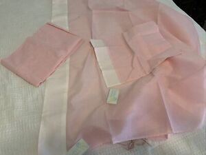 Boutique Bailey Toddler Sheets Pink Gingham Checked Vintage NOS 3 Piece