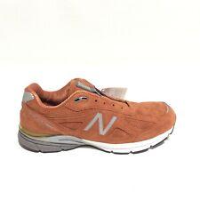 New Balance 990V4 Jupiter Suede Burnt Orange Running Shoes Sneakers Mens SZ 11.5