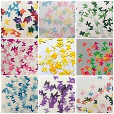 Martha Stewart Royal Butterfly Punch Scrapbooking 50Pcs Cardstock Party Confetti