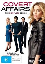 Covert Affairs : Season 1-5 (DVD, 15-Disc Set) NEW