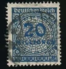 D.Reich Nr. 319 A Wb gestempelt, 20 MIO schwarzblau, ATTEST Tworek BPP (61845)