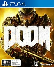 Doom PlayStation 4 PS4 Brand New Game