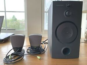 Harman Kardon HK395 3-Piece Speaker System w/ Subwoofer & Speakers