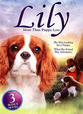 Lily More Than Puppy Love, Lassie The Painted Hills, Great Elephant Escape DVD