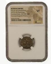Roman AE of Constantinopolis (AD 330-346) NGC (VF)