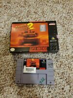 Super Battletank 2 Complete CIB (Super Nintendo Entertainment System SNES)