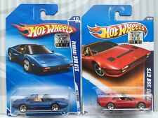 2010 Hot Wheels Lot of 2 All Stars Series Ferrari 308 GTS -HTF- From Factory Set