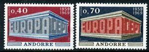 Andorra 1969 Europa MNH
