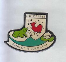 RARE PINS PIN'S .. ANIMAL GRENOUILLE FROG COQ ROOSTER 29  ~6C