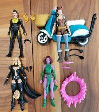 Marvel Legends Emma Frost Squirrel Girl Blink Negasonic Teen Lot  deadpool x-men