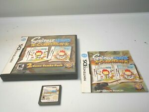 Scribblenauts Collection (Nintendo DS) game lite dsi xl 3ds 2ds