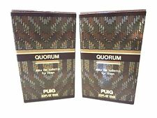 2 Quorum By Antonio Puig Eau De Toilette 0.3 Oz For Men TRAVEL SIZE SPLASH