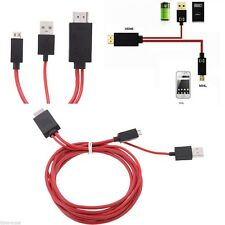 2M Micro USB To HDMI MHL 1080P Cable Adapter For Samsung Galaxy S3/S4/S5 NOTE2 3