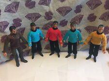 Vintage Mego Star Trek Action Figure Lot Spock Kirk Scotty Klingon Bones!!