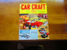 Car Craft Magazine, August 1962, All Star Show Car Roundup