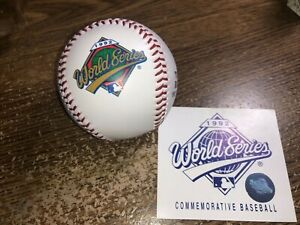 1992 World Series Commemorative Baseball Ball ATLANTA BRAVES & TORONTO BLUE JAYS
