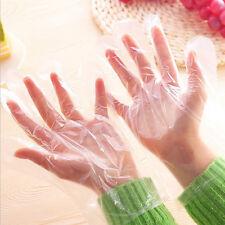 Paquet de 100pcs gants en plastique jetables Restaurant Accueil Service maison