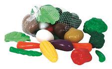 GOWI Gemüse 28 Teile Kinderküche Küchenzubehör Kinder Küche Spielgemüse