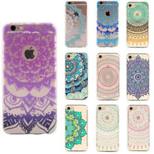 Patterned Phone Case DIY For iPhone Transparent Case Floral Silicone Soft Cover