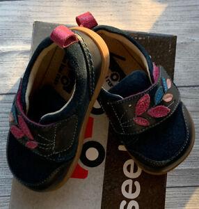 See Kai Run Size 6 NEW Toddler Girl Navy NIB