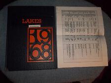 "1968 MOUNTAIN LAKES HIGH SCHOOL YEARBOOK MOUNTAIN LAKES NJ NEW JERSEY ""LAKES"""