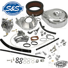 S&S Super E Carburetor Kit for Harley Carburetor Set Up on 1993-99 Evo | 11-0419