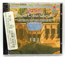 Mozart: Famous Opera Choruses / Nikolaus Harnoncourt ~ New CD (Jul-1995, Teldec)