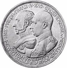 Jäger 88 Mecklenburg Schwerin 3 Mark 1915 Jahrhundertfeier des Großherzogtums