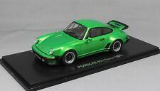 Kyosho Porsche 911 930 Turbo in Green Metallic 1975 05524G 1/43 NEW RRP £79.99