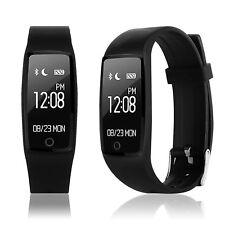 Smart Watch Pulsuhr Schrittzähler Sport Fitness Tracker Heart Rate Uhr/*