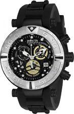 BRAND NEW INVICTA SUBAQUA 24612 BLACK SKELETON CHRONOGRAPH DIAL MEN'S WATCH