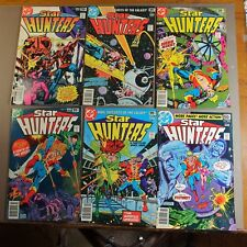 Star Hunters lot 6 issues #2-7
